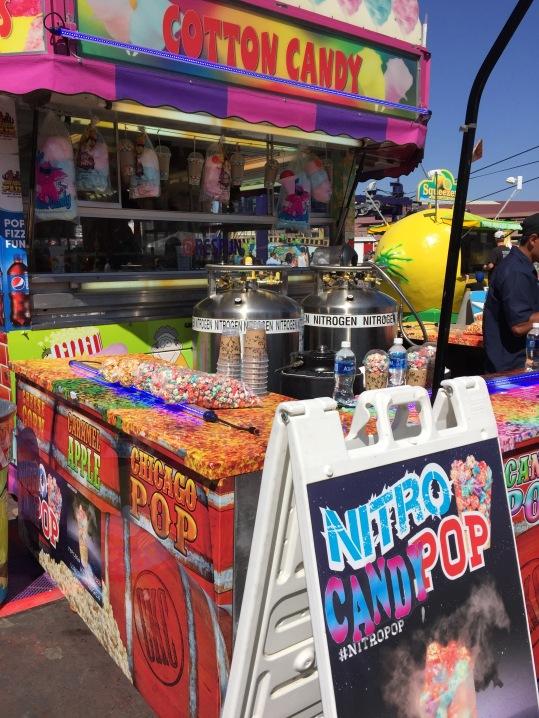 liquid nitrogen popcorn San Diego county fair