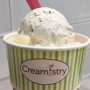 creamistry liquid nitrogen ice cream