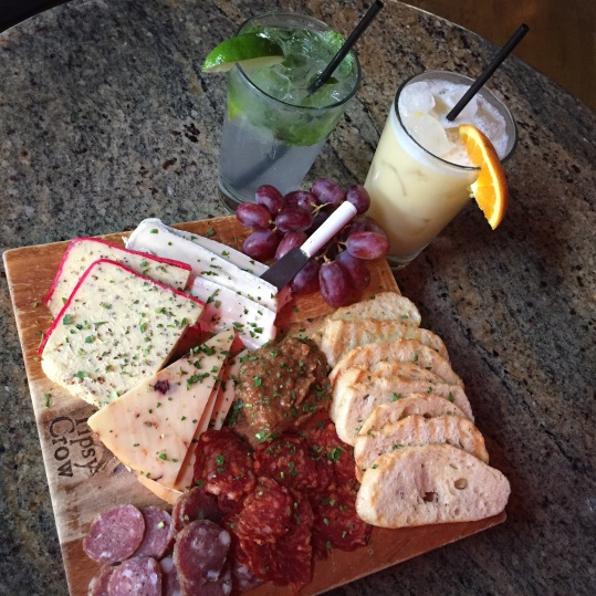 The Tipsy Crow Cheese Board