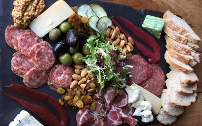 Solterra Winery Mixed Cheese and Meat Plate