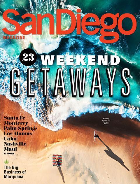 San Diego Magazine, February 2018