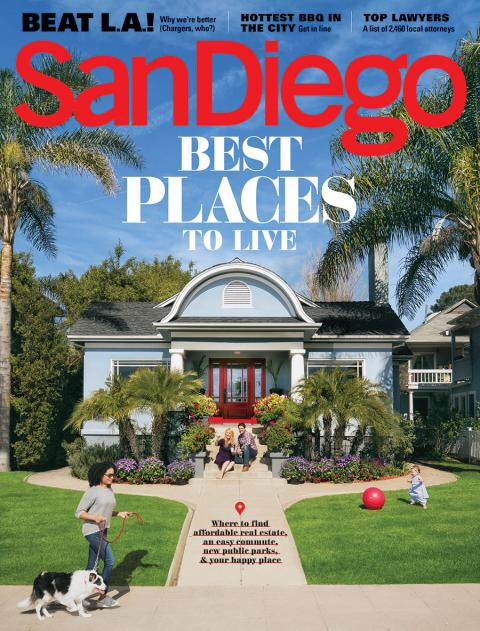 San Diego Magazine, March 2017